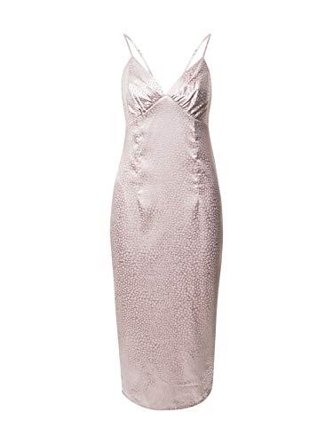 Chi Chi London Damen Abendkleid Chesa pastellpink 12 (40)