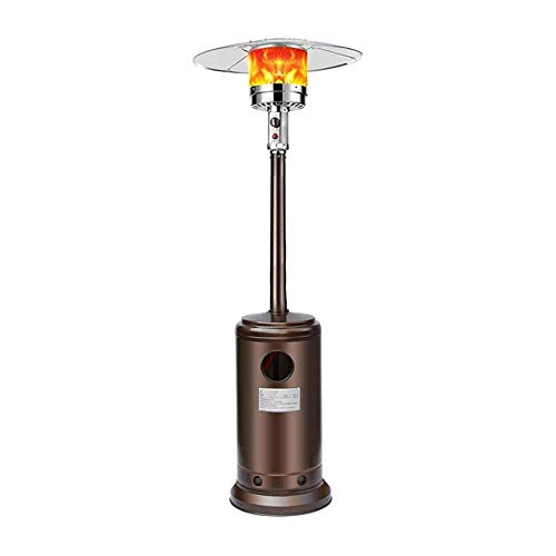 YAMMY Calentadores eléctricos, Calentador de Gas licuado, Estufa de calefacción Tipo Paraguas, Estufa para Asar, Hogar Comercial, Exterior (Barbacoa)
