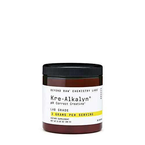 Beyond Raw Chemistry Labs Kre-Alkalyn, 30 Servings, Increases Muscle Performance During Exercise