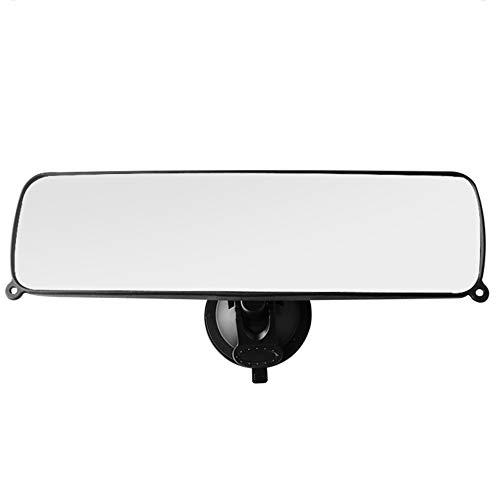 KKmoon Auto Rückspiegel Universal Innenspiegel Saugnapf Spiegel für Auto LKWrückspiegel Auto innen