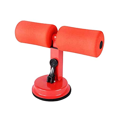 Warmwin Fitness Sucker Sit-Ups Sit-Ups Sit-Up Stick Bauch Kernkraft Muskeltraining Home Gym Body Shaping Langhantel Single_red