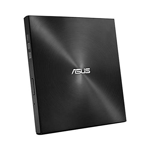 ASUS ZenDrive Ultra Slim USB 2.0 External 8X DVD Optical Drive +/-RW with M-Disc Support for Windows and Mac and Nero BackItUp for Android Devices (SDRW-08U7M-U/BLK/G/AS)