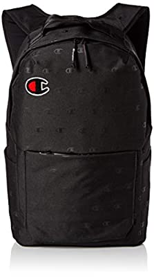 Champion Men's Advocate Backpack, Black Heather, OS