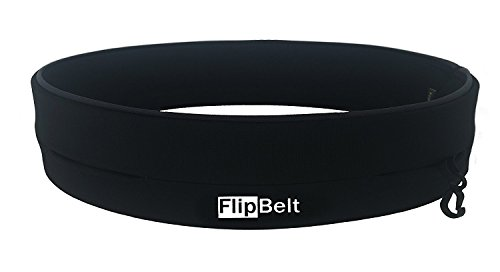 FlipBelt Level Terrain Waist Pouch, Medium, Black