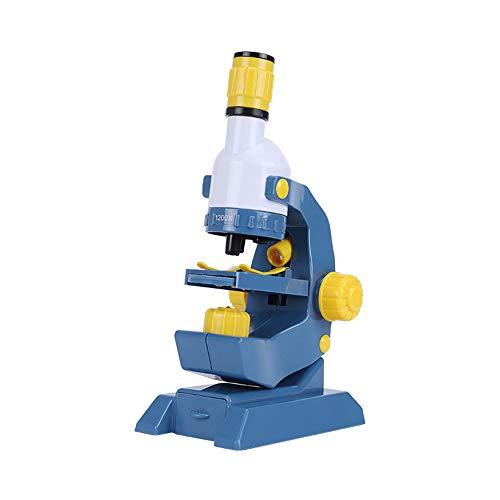 Microscopio para Niños Microscopio para la ciencia de los niños, principiante Microscopio Ampliación Ciencia Juguetes, juguetes educativos Niños y niñas Regalos de cumpleaños Regalos de juguetes educa