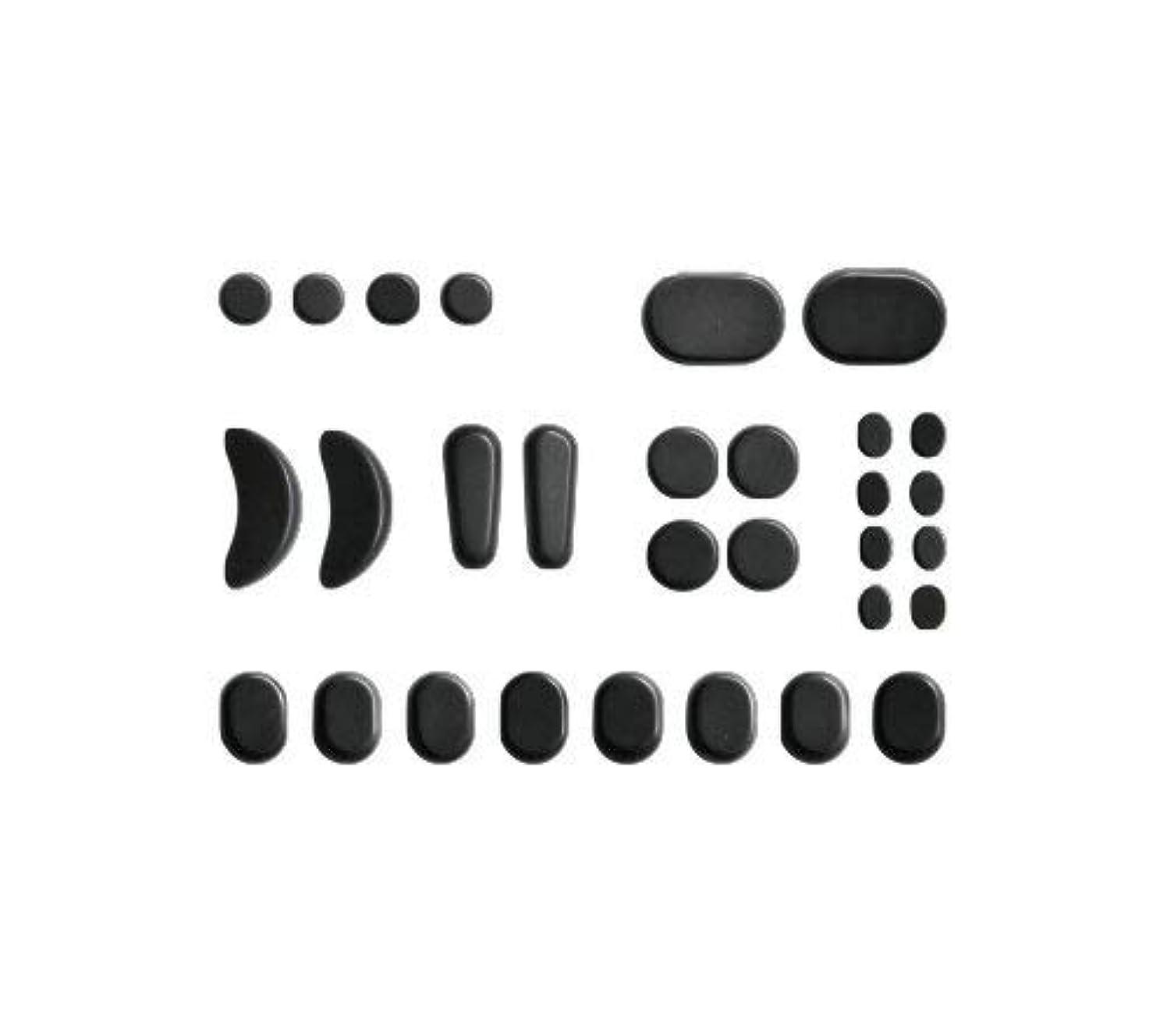 アーティキュレーション貫通するトランスミッションホットストーン バサルト 30 成形