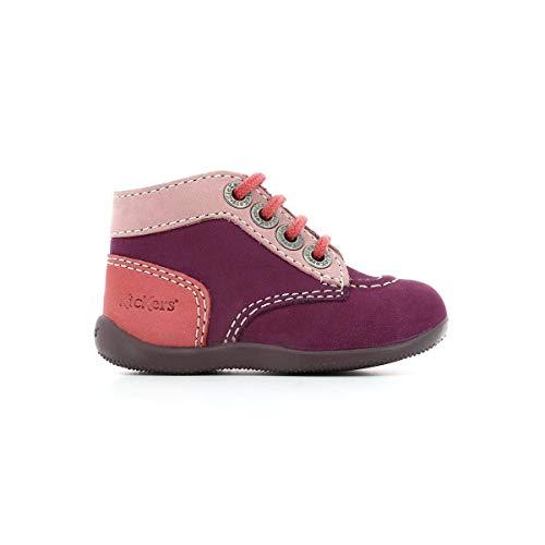 Kickers Stiefel für Mädchen 446829 BONBON 141 Violet Rose Clair Rose Schuhgröße 24 EU