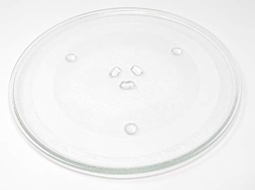 Appliance Pros 12.5 GE and Samsung -Compatible Microwave Glass Plate/Microwave Glass Turntable Plate Replacement - 12 1/2 Plate Same as G.E. WB39X10002 and WB39X10003