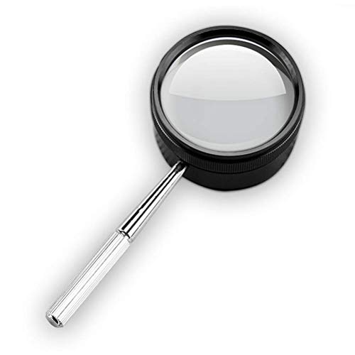 W1FDJ Handheld Vergrootglas, 30 keer vervormingsvrije Lens, Sieraden Vergrootglas, Microscoop, Op grote schaal gebruikt en draagbaar