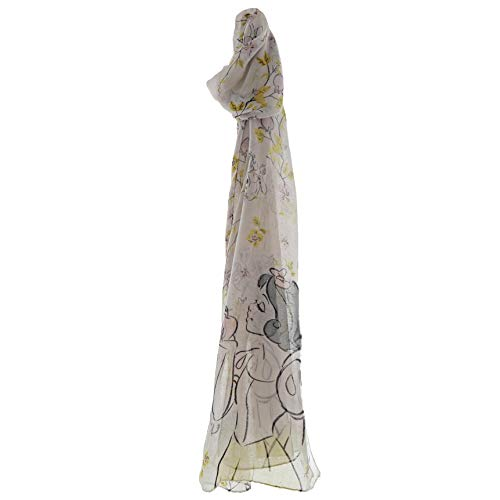 Enchanting Disney Collection Damen Enchanting Disney Snow White Scarf Schal, Mehrfarbig (Multicoloured Multicolour), One size