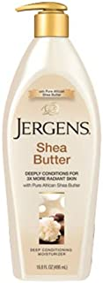 Jergens Shea Butter Deep Conditioning Moisturizer 400 ml, Pack of 1