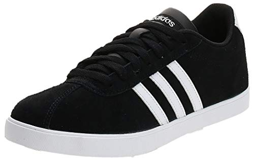 adidas Courtset, Scarpe da Fitness Donna, Nero Cblack Ftwwht Msilve Cblack Ftwwht Msilve, 43 1/3 EU