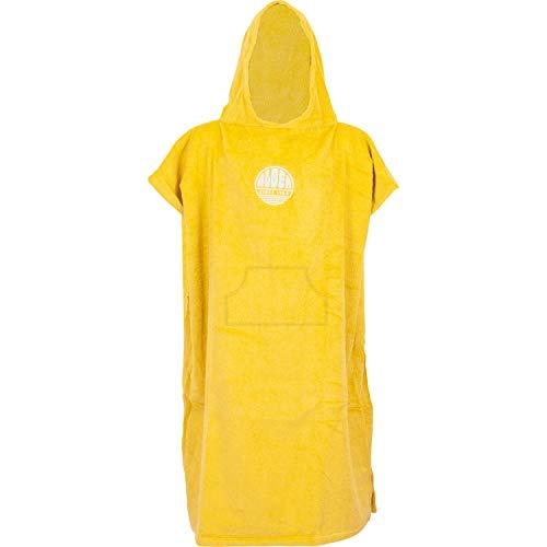 Alder Terry Cotton Poncho Changing Robe 2021 - Mustard