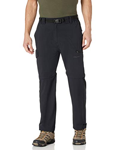 Arctix Men's Cliff Convertible Trail Pant, Black, 2X-Large (44-46W 30L)