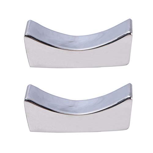 UPKOCH 2 piezas de acero inoxidable palillos resto cuchara t