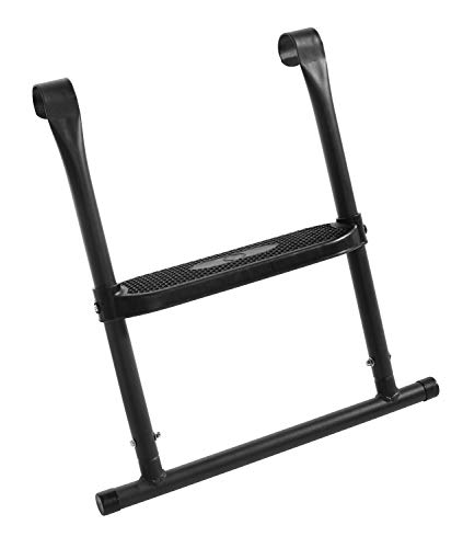 Salta trampoline 610 hoogwaardige trampoline ladder met 2 treden, zwart, 251 cm 52x55cm zwart