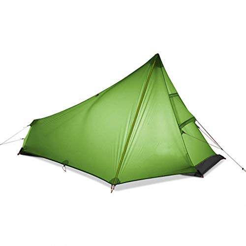 'N/A' 3 Season 1 Person Tents Ultralight Hiking Camping Tent Outdoor 15d Nylon Rodless