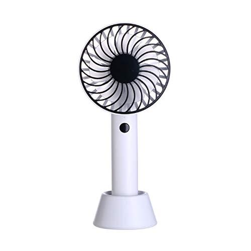 HaiQianXin Mini Ventilador portátil de Mano Rotación de 180 Grados Recargable Ventilador...