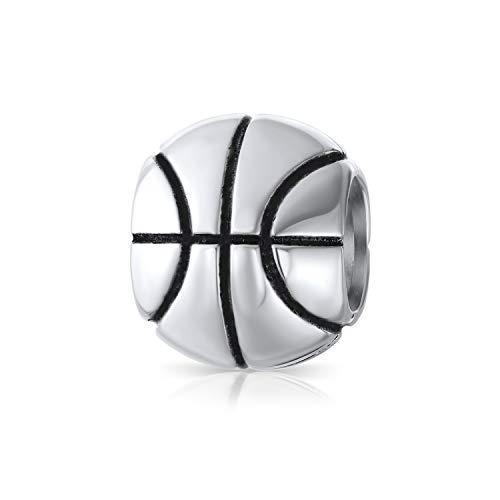 Basketball Sport Sportler Coach Charme Perle Für Frauen Für Teen 925 Sterling Silber Passt Europäische Armband