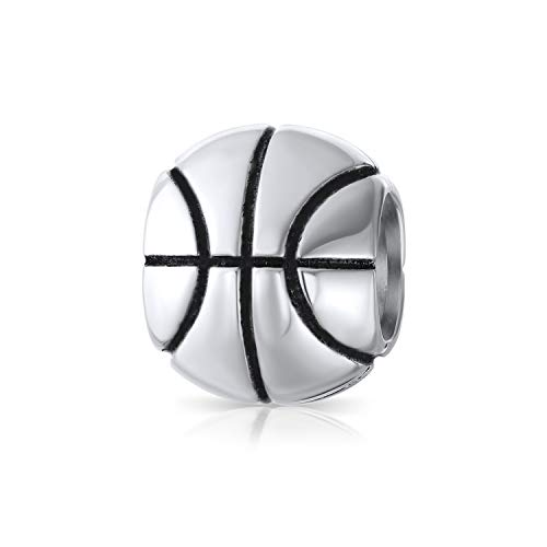 Basketball Sport Athleten Trainer Charm Bead Für Damen Für Jugendlich 925 Sterling Silber Passt Europäischen Armband