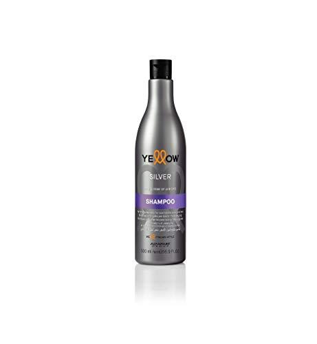 Silver Shampoo Antigiallo - Acai & Rose of Jericho - 500 ml - Yellow (AlfaParf Group)