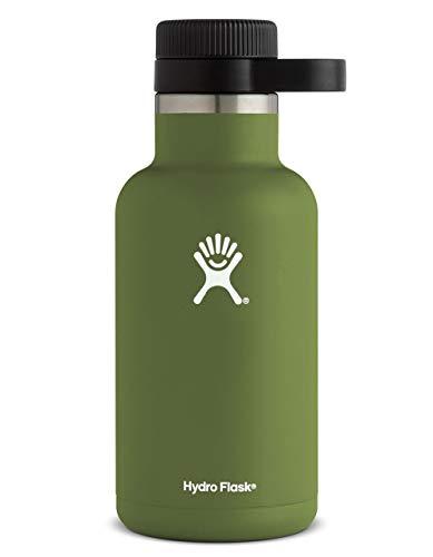 HYDRO FLASK 64oz Olive Growler, Olive