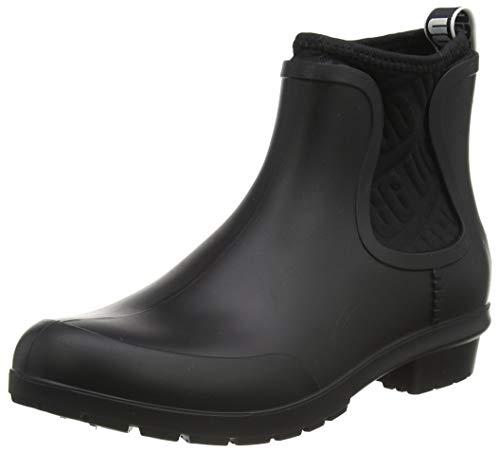 UGG Women's Chevonne Ankle Boot, Black, 8