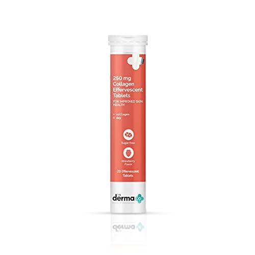 The Derma Co 250 mg Collagen Supplement Effervescent Tablet for Improved Skin Health(dermaco)
