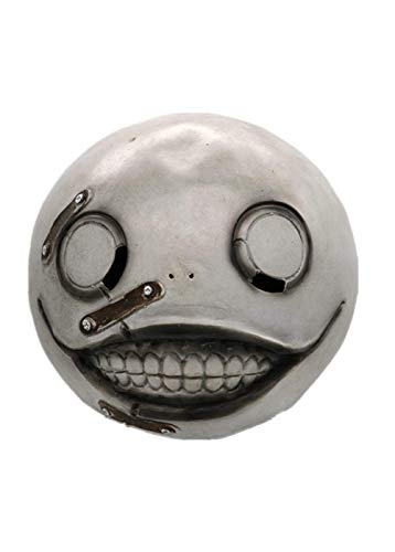 NieR Automata Emil Mask Men Halloween Cosplay Prop Full Head Hot Game Cosplay