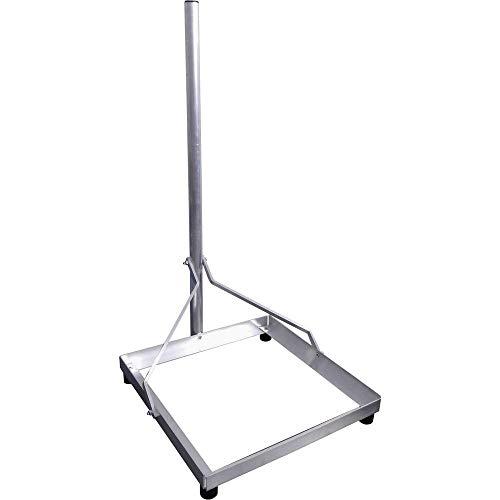 SCHWAIGER BAS5550011 SAT-Standfuß Silber