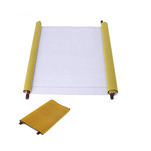 2 Pack Reusable Chinese Cloth Water Paper Calligraphy Fabric Book Notebook for Chinese Calligraphy Practice 1.5m