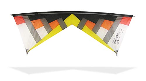 Revolution Kites Lenkdrachen New York Minute 4 Linien 1 belüftet, NYM2 Hot #3-2, Yellow/Orange/Schwarz
