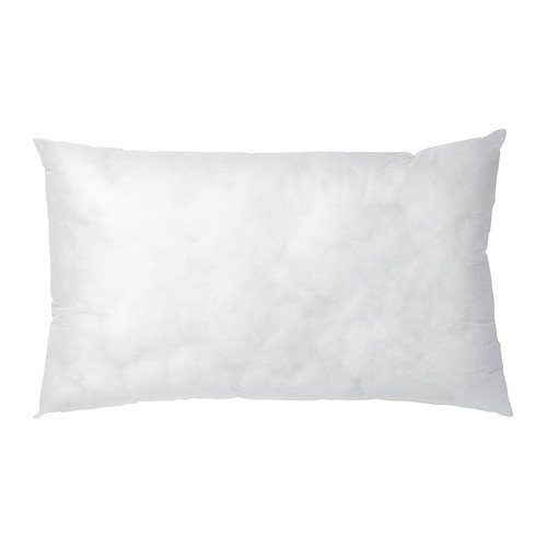 IKEA INNER - Cushion-Pad, Weiß - 40x65 cm