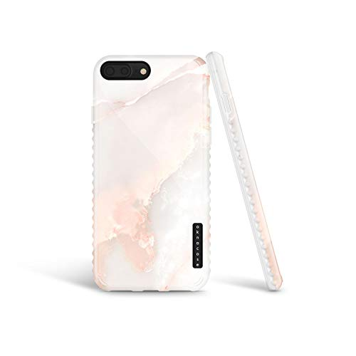 iPhone 8 Plus & iPhone 7 Plus Case Marble, Akna GripTight Series High Impact Silicon Cover with Full HD Graphics for iPhone 8 Plus & iPhone 7 Plus (Graphic 101779-U.S)