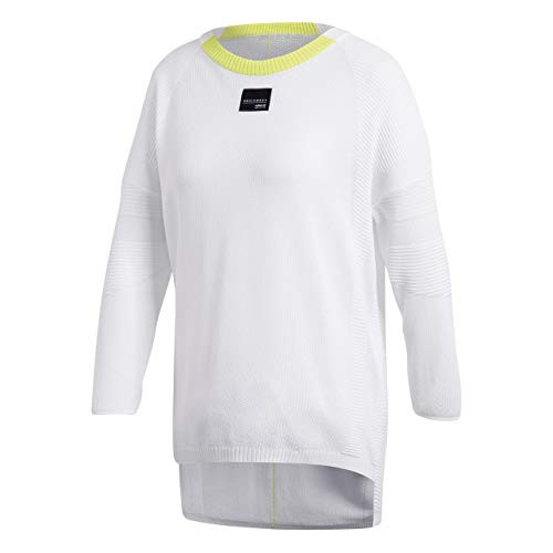 adidas EQT Sweatshirt Sudadera, Mujer, Blanco, 34