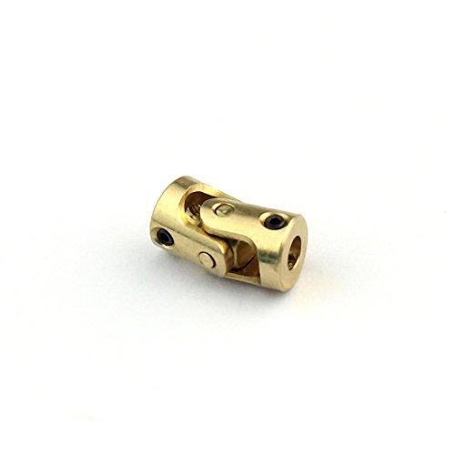 BGNing Accessoires Laiton Mini Cardan 3mm-3mm Couplage DIY Toy Joint Universel pour Le Bricolage Voiture Bateau