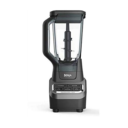 NINJA BL610 Professional Blender with Total Crushing Technology, 1000-Watts, Black (Renewed)