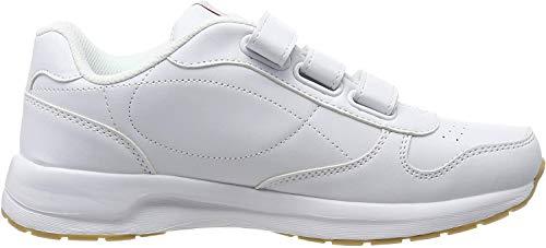 Kappa Unisex-Erwachsene Base VL Sneaker, 1010 White, 41 EU