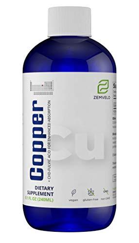 Liquid Ionic Copper (8 Oz - 96 Day Supply)
