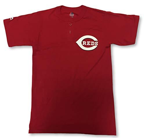 Majestic Cincinnati Reds 2-Button Men's Jersey Shirt 2X