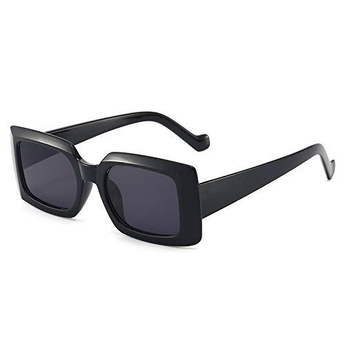 ZZZXX Gafas De Sol Mujer Encuadre La Moda Europea Y Americana Gafas De Piloto Con Estuche Y Paño De Limpieza, Para Ciclismo Pescar Y Conducir
