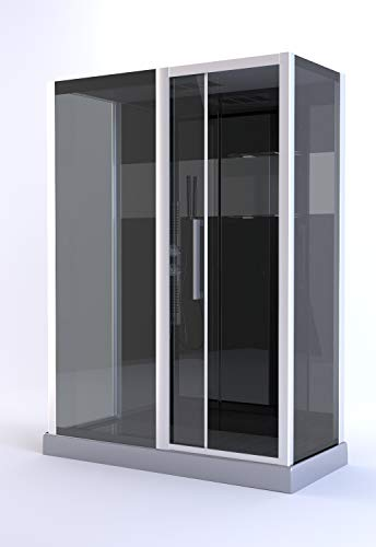 Cabine de douche rectangle 150x75x225cm - COSMOS XXL