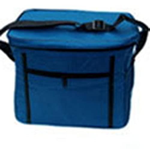 Bolsa de enfriador de espesor grande plegable fresco manteniendo bolsas de refrigerador bolsa de almuerzo para comida fruta marisco de marisco aislamiento de carne de cerveza térmica ( Color : Blue )