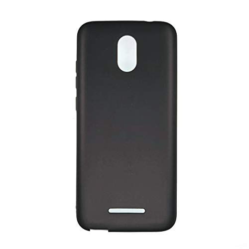 Oujietong Case for Blu View 1 B100dl Case TPU Soft Cover Black