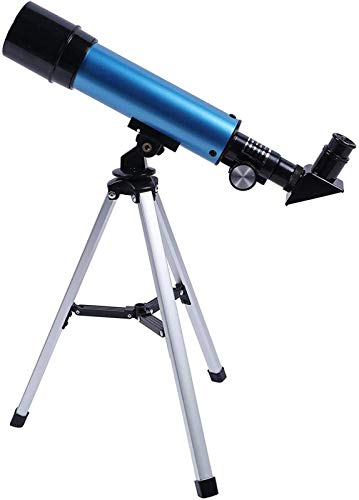 ZHAOJ Telescope for Astronomy Beginners Telescope for Kids 15-21 Beginner Telescope Refractor Telescope with Finder Scope Tripod for Stargazing