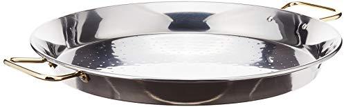 Garcima 16-Inch Stainless Steel Paella Pan, 40cm