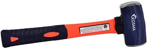 Kosma Club Martillo con mango de fibra de vidrio 1,1 kg | Martillo de perforación