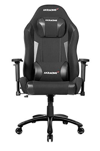 AKRacing Chair Core EXWIDE SE Gaming Stuhl, Stoff/Kunstleder, Carbon, One Size