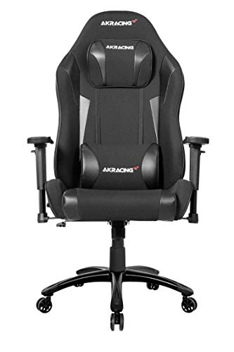 AKRacing Core Series EX-Wide SE Ergonomic Carbon Black Gaming Chair with Wide Seat, 330 Lbs Weight Limit, Rocker and Seat Height Adjustment Mechanisms with 5/10 Warranty