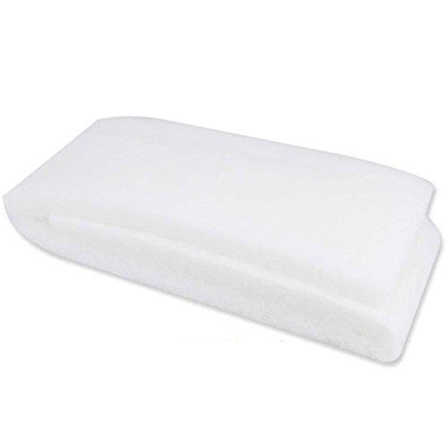 Regard L 100cm Longitud bioquímica Filtro de algodón Esponja para Peces de Acuario Tanque de 3 cm de Espesor